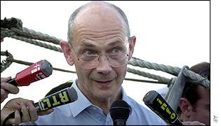 Pascal Lamy, EU trade commissioner