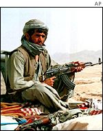 A Taleban fighter