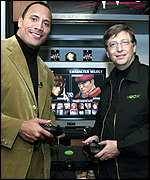 The Rock and Bill Gates