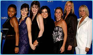 EastEnders cast at the National TV awards