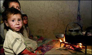 Afghan child in Quetta
