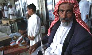 Saudi market trader