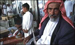 Saudi market trader