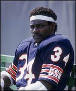 Walter Payton in Chicago Bears uniform