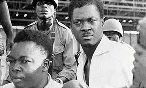 Assassinated Congolese leader Patrice Lumumba