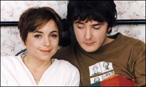 Charlotte Coleman and Dylan Moran in However Do You Want Me?