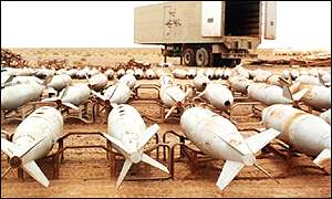 Missile for biological and chemical weapons in Iraq, PA
