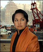 Philippines President Gloria Arroyo at WTC