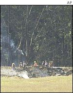 Pennsylvania crash site of Flight 93
