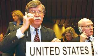 US Under-secretary of State John Bolton at the conference