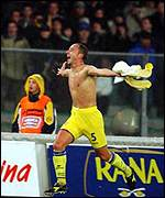 Eugenio Corini is the Chievo captain