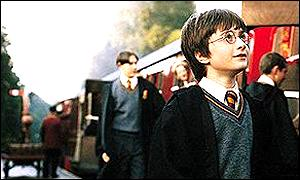 Harry Potter with Hogwarts Express