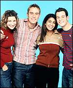 Blue Peter's Liz Barker, Simon Turner, Konnie Huq and Matt Baker