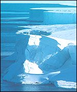 Ice berg: Antarctica New Zealand