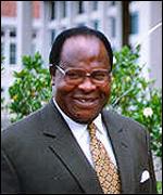 President Bakili Muluzi of Malawi