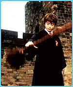 Harry Potter learns to fly