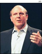 Steve Ballmer, chief executive