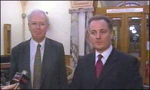 Jim Wallace and Jack McConnell