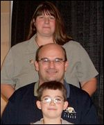 Paul, Lori-Ann and Josh Willey