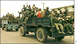 Nigerian troops
