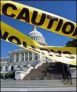 Much of Capitol Hill was closed for anthrax tests