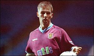 Aston Villa youngster Thomas Hitzlsperger