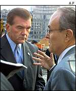 Tom Ridge and Rudolph Giuliani