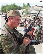 В ингушетии сепаратисты расстреляли армейский уаз: 4 убитых.