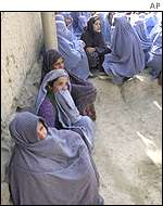 Afghan women in Kabul