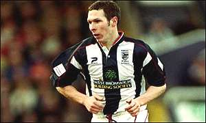 West Brom midfielder Michael Appleton
