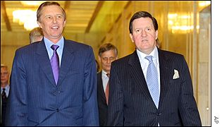 Sergei Ivanov and George Robertson