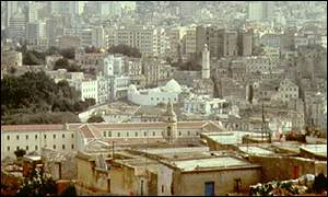 Algerian capital of Algiers