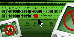 Cyber crime graphic, BBC