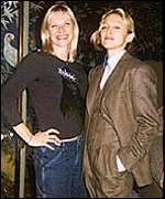 Madonna and Jo Whiley