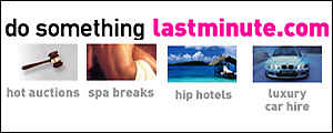 lastminute advertising slogan