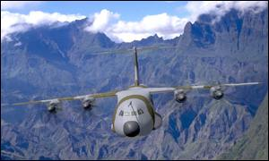 Airbus A400M mock-up