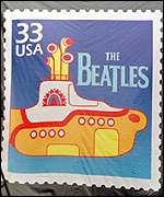 Yellow Submarine stamp