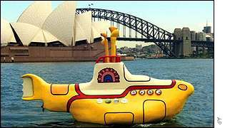 Yellow Submarine in Sydney