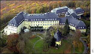 The Hotel Petersberg, near Bonn