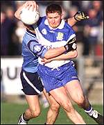 Conleth Gilligan has developed into Ballinderry's playmaker