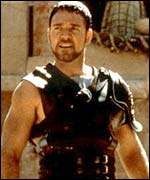 Russel Crowe in Gladiator