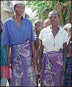 Women in Mporokoso, northern Zambia