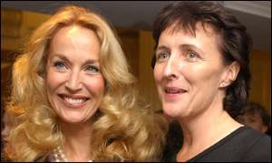 Jerry Hall, Fiona Shaw