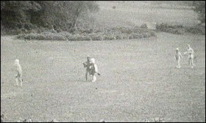 The footage of Christopher Robin in 1929