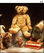The original stuffed characters on which AA Milne's Winnie the Pooh stories were based