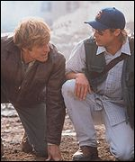 Spy Game stars Robert Redford and Brad Pitt