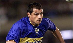 Delgado was the villain of the piece for Boca, missing a number of clear cut chances and receiving his marching orders for a second yellow card