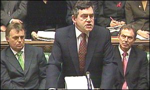 Gordon Brown, pre-Budget report
