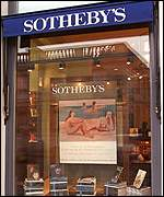 The Sothebys office in Paris