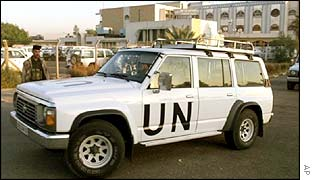 UN arms inspectors leave Baghdad in 1998
